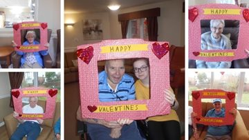 Love is all around at Carlton care home