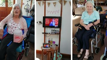 Bringing the theatre to us at Surrey care home