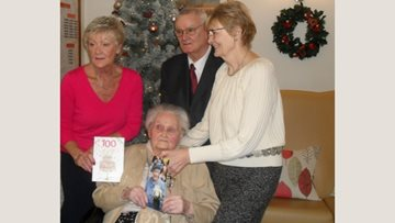 100th birthday celebrations at Winters Park