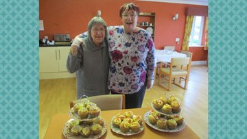 Hartford Court's Residents enjoy a bake off