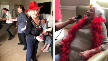 Rochdale care home is alive with the sound of music