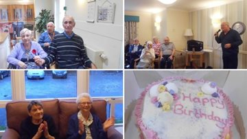 Resident celebrates her 85th birthday at Falkirk care home