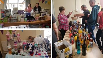 Summer fete celebrations raise £1000 at Priory Mews