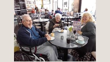 Eastbourne care home Residents enjoy Airborne Airshow