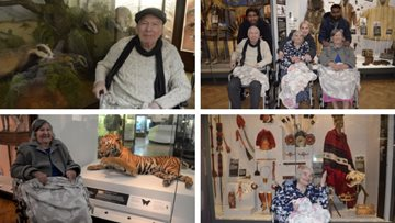 Aston House Residents visit Horniman museum