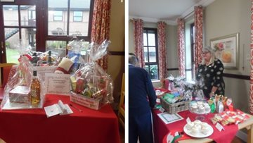 Haslington care home welcomes local community to Christmas Fayre
