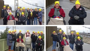 Scunthorpe care home raises £250 for Children in Need with sponsored wheelchair push