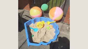 Coventry care home thinks life's a beach!