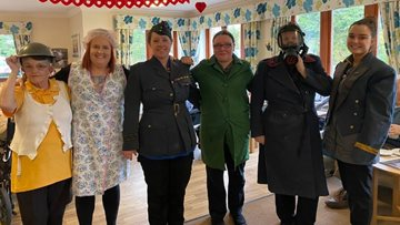 Perth care home hosts 1940's afternoon tea