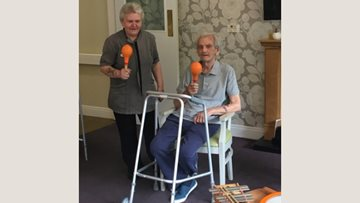 Marvellous musical adventure at Newton Heath care home