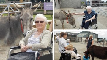 Animal therapy is a success for Stalybridge care home Residents