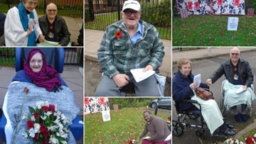 Birmingham care home honours war heroes and 100 years of Armistice