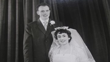 Couple celebrates diamond wedding anniversary at Jarrow care home